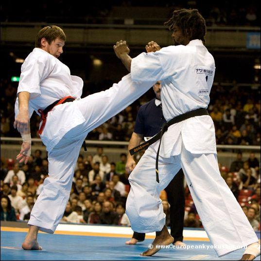 Shevnin (Russia) vs<br>Texeira (Brazil)