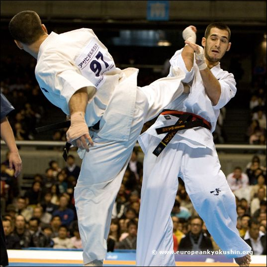 Karpenko vs Kurbanov<br>ushiro-geri
