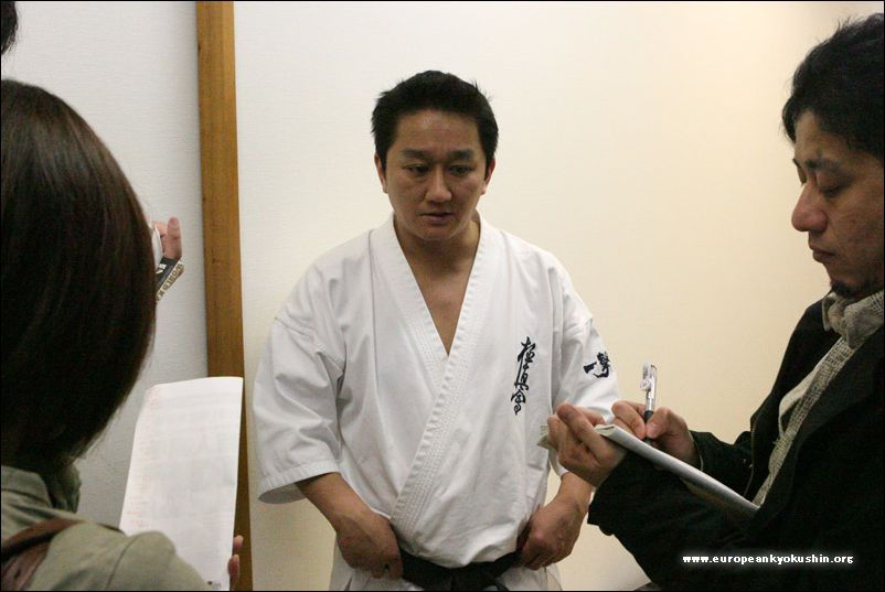 interview with<br>Shihan-dai Narushima